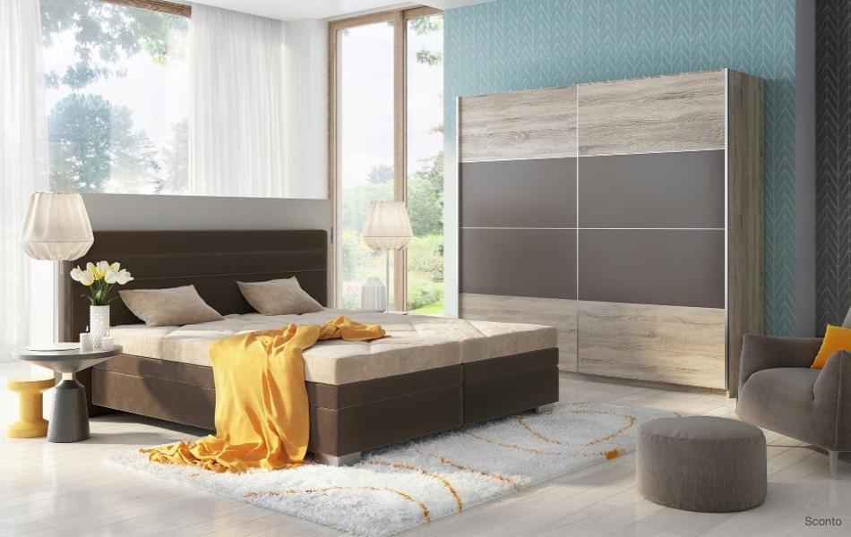 Polohovacia posteľ GLORIA