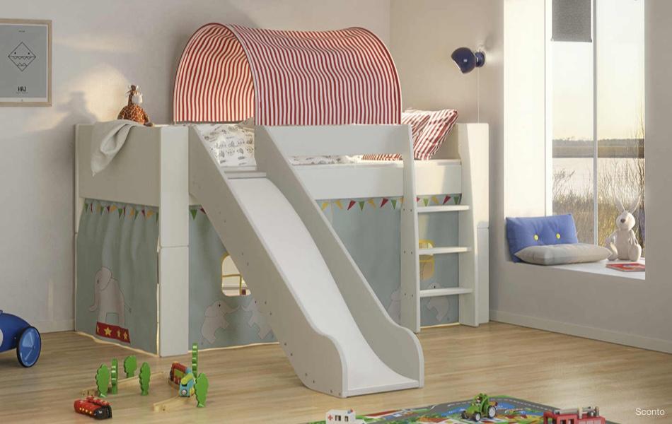 Poschodová posteľ FOR KIDS 615