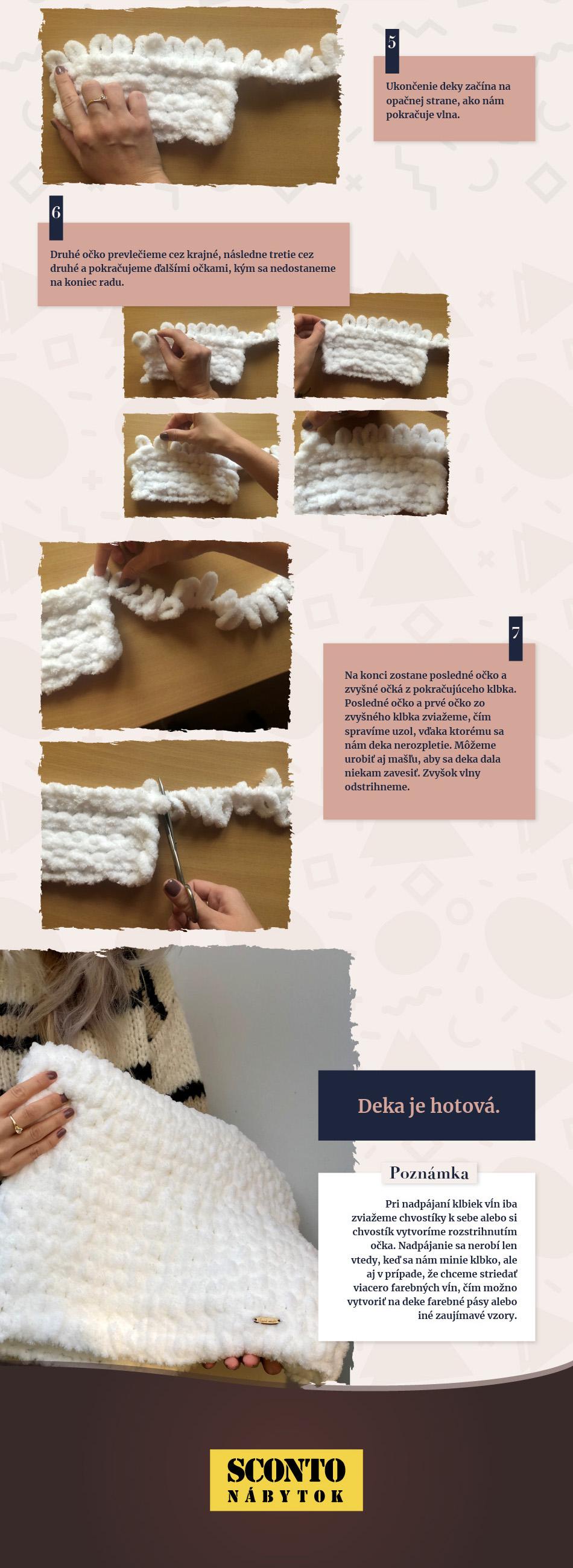 Zohrejte sa vo vlastnoručne vyrobenej deke z Alize Puffy