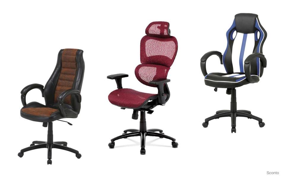 Kancelárske stoličky, kreslá